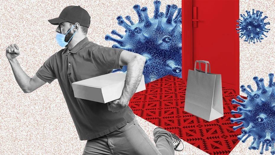 Коронавирус увеличивает сферу доставки