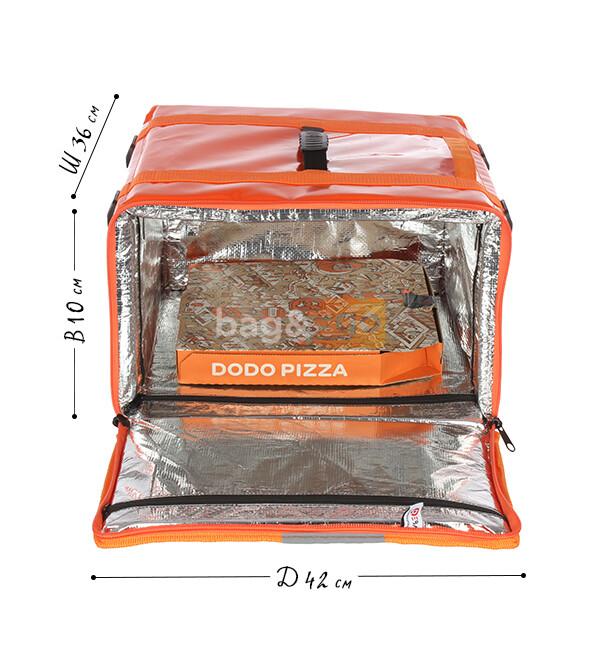 Фольгированная термосумка для обедов на работу