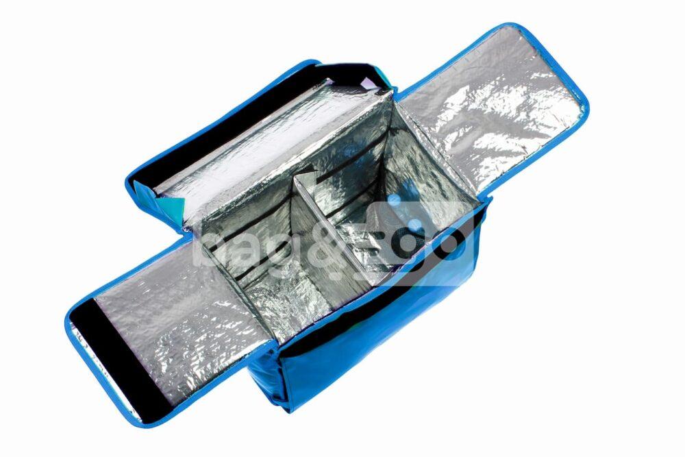Терморюкзак с карманом для документов (тканевый или прозрачный)