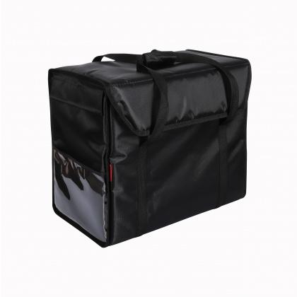 Терморюкзак 500х300х400 мм фольгированный черный